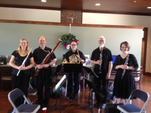 JCSO Wind Ensemble at Park Place May 2014