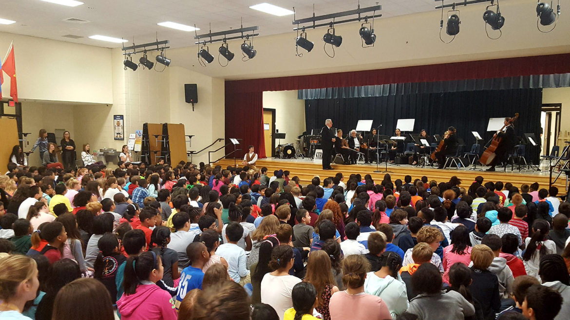 Wilson Creek Elementary School and Johns Creek Symphony Orchestra